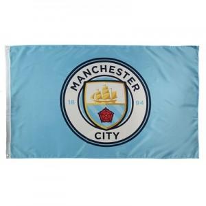 Manchester City Crest Flag