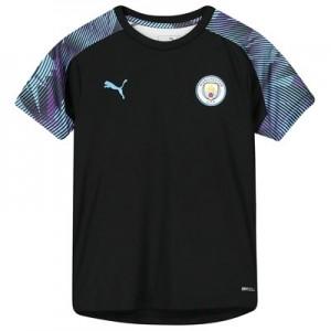 Manchester City Training Jersey – Black – Kids
