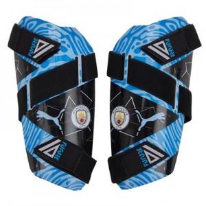 Manchester City Future 5 Shin Pads - Light Blue