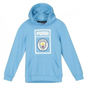 Manchester City Shoe Tag Hoody - Light Blue - Kids