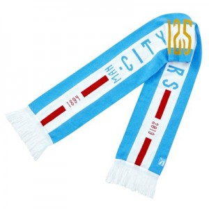 Manchester City 125 Year Anniversary Fan Scarf