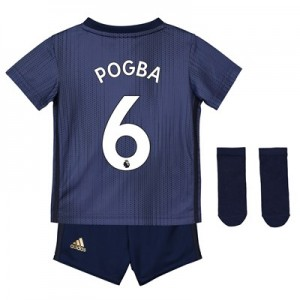 Manchester United Third Baby Kit 2018-19 with Pogba 6 printing