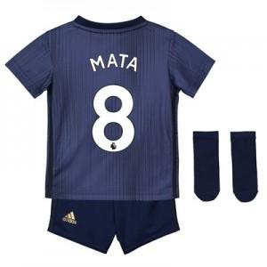 Manchester United Third Baby Kit 2018-19 with Mata 8 printing