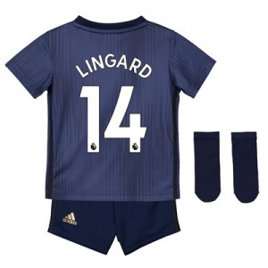 Manchester United Third Baby Kit 2018-19 with Lingard 14 printing