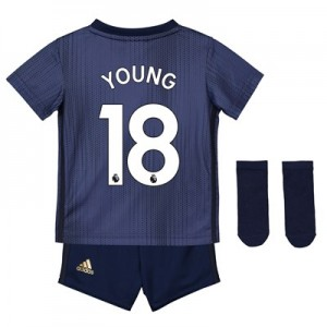 Manchester United Third Baby Kit 2018-19 with Young 18 printing