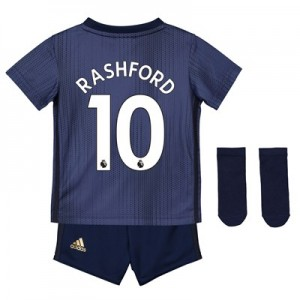 Manchester United Third Baby Kit 2018-19 with Rashford 10 printing