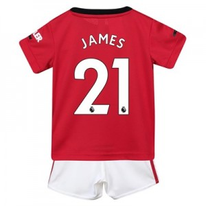 Manchester United Home Baby Kit 2019 – 20 with James 21 printing