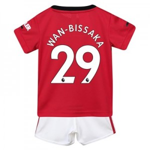 Manchester United Home Baby Kit 2019 – 20 with Wan-Bissaka 29 printing