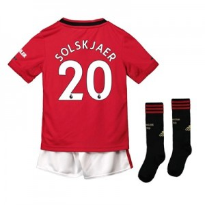 Manchester United Home Mini Kit 2019 – 20 with Solskjaer 20 printing