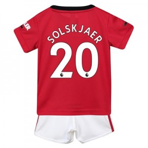 Manchester United Home Baby Kit 2019 – 20 with Solskjaer 20 printing