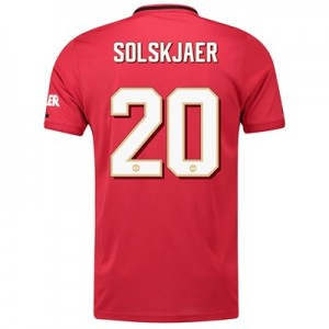 Manchester United Cup Home Shirt 2019 - 20 with Solskjaer 20 printing
