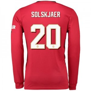 Manchester United Cup Home Shirt 2019 – 20 – Long Sleeve with Solskjaer 20 printing