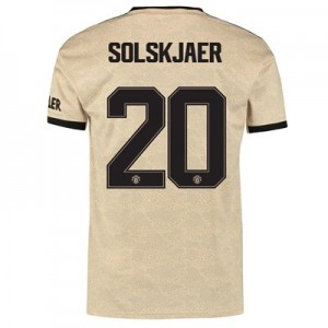 Manchester United Cup Away Shirt 2019 – 20 with Solskjaer 20 printing