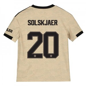 Manchester United Cup Away Shirt 2019 - 20 - Kids with Solskjaer 20 printing