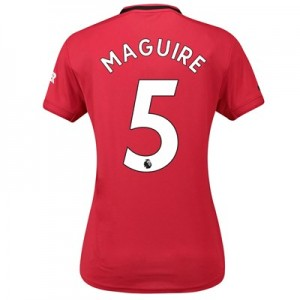 Manchester United Home Shirt 2019 - 20 - Womens with Maguire 5 printing