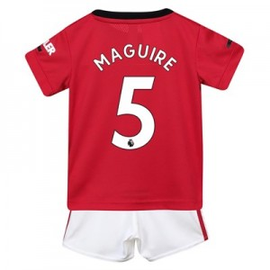 Manchester United Home Baby Kit 2019 – 20 with Maguire 5 printing