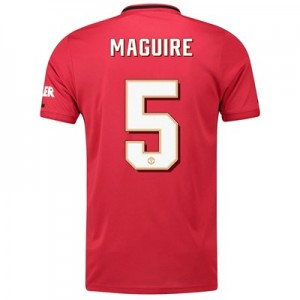 Manchester United Cup Home Shirt 2019 - 20 with Maguire 5 printing