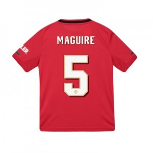 Manchester United Cup Home Shirt 2019 - 20 - Kids with Maguire 5 printing