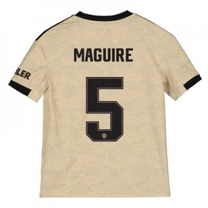 Manchester United Cup Away Shirt 2019 – 20 – Kids with Maguire 5 printing