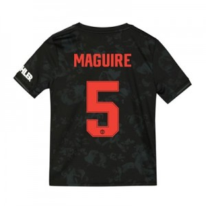 Manchester United Cup Third Shirt 2019 - 20 - Kids with Maguire 5 printing