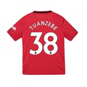 Manchester United Home Shirt 2019 – 20 – Kids with Tuanzebe 38 printing