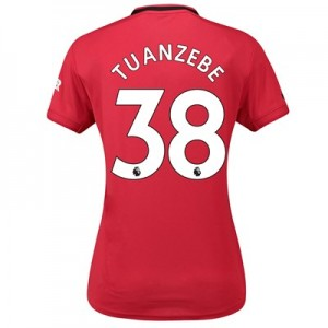 Manchester United Home Shirt 2019 - 20 - Womens with Tuanzebe 38 printing