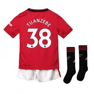 Manchester United Home Mini Kit 2019 – 20 with Tuanzebe 38 printing