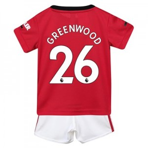 Manchester United Home Baby Kit 2019 – 20 with Greenwood 26 printing