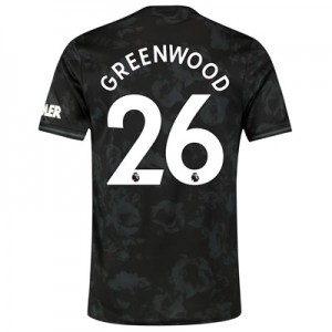 Manchester United Third Shirt 2019 - 20 with Greenwood 26 printing