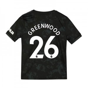 Manchester United Third Shirt 2019 - 20 - Kids with Greenwood 26 printing