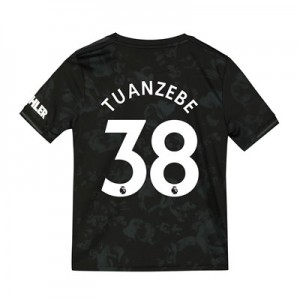 Manchester United Third Shirt 2019 - 20 - Kids with Tuanzebe 38 printing