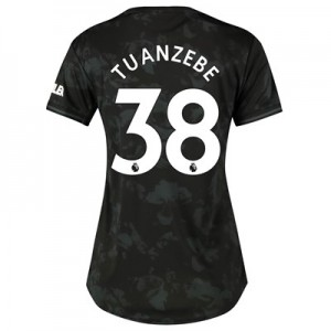 Manchester United Third Shirt 2019 – 20 – Womens with Tuanzebe 38 printing