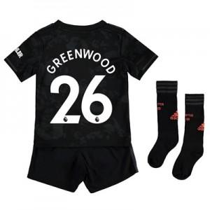 Manchester United Third Mini Kit 2019 – 20 with Greenwood 26 printing