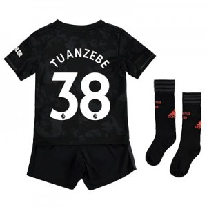 Manchester United Third Mini Kit 2019 - 20 with Tuanzebe 38 printing