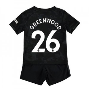 Manchester United Third Baby Kit 2019 – 20 with Greenwood 26 printing