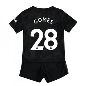 Manchester United Third Baby Kit 2019 - 20 with Gomes 28 printing