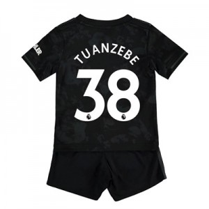 Manchester United Third Baby Kit 2019 - 20 with Tuanzebe 38 printing