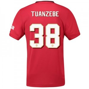 Manchester United Cup Home Shirt 2019 – 20 with Tuanzebe 38 printing
