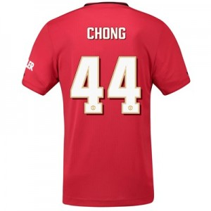 Manchester United Cup Home Shirt 2019 – 20 with Chong 44 printing
