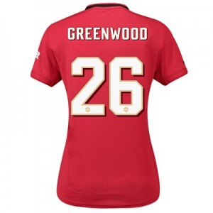 Manchester United Cup Home Shirt 2019 – 20 – Womens with Greenwood 26 printing