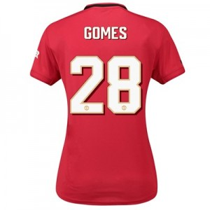 Manchester United Cup Home Shirt 2019 - 20 - Womens with Gomes 28 printing