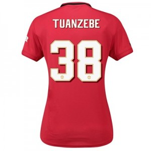 Manchester United Cup Home Shirt 2019 – 20 – Womens with Tuanzebe 38 printing