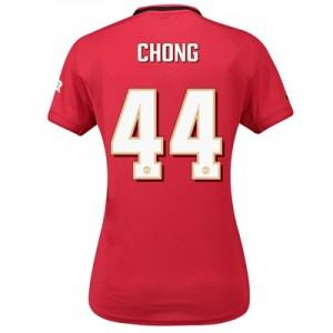 Manchester United Cup Home Shirt 2019 – 20 – Womens with Chong 44 printing