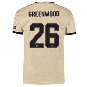 Manchester United Cup Away Shirt 2019 – 20 with Greenwood 26 printing