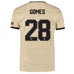 Manchester United Cup Away Shirt 2019 – 20 with Gomes 28 printing