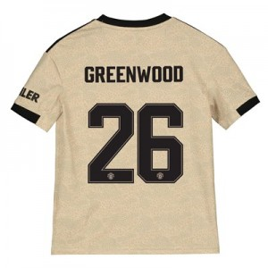 Manchester United Cup Away Shirt 2019 – 20 – Kids with Greenwood 26 printing