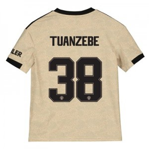 Manchester United Cup Away Shirt 2019 – 20 – Kids with Tuanzebe 38 printing