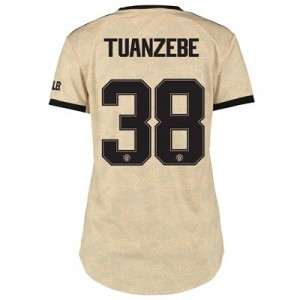 Manchester United Cup Away Shirt 2019 - 20 - Womens with Tuanzebe 38 printing