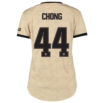 Manchester United Cup Away Shirt 2019 - 20 - Womens with Chong 44 printing