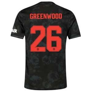 Manchester United Cup Third Shirt 2019 - 20 with Greenwood 26 printing